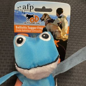 All For Paws ALP Ballistic Tugger Frog Dog Toy
